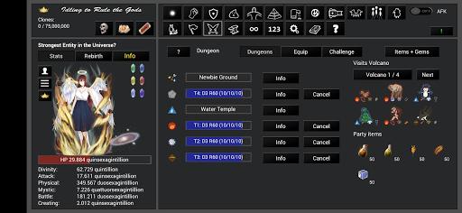 Idling to Rule the Gods 3.50 screenshots 12