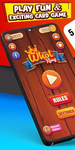 Whot King: Multiplayer Card Game free + offline 5.2.1 screenshots 1
