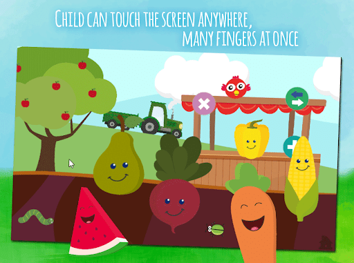 Animals & fruits -  game for toddlers from 1 year 1.0.4 screenshots 2
