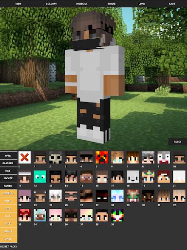 Custom Skin Creator For Minecraft apktram screenshots 11