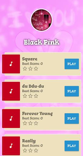 Black Pink Piano Game screenshots 1