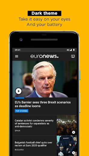 Euronews: Daily breaking world news & Live TV 5.4.2 Screenshots 2