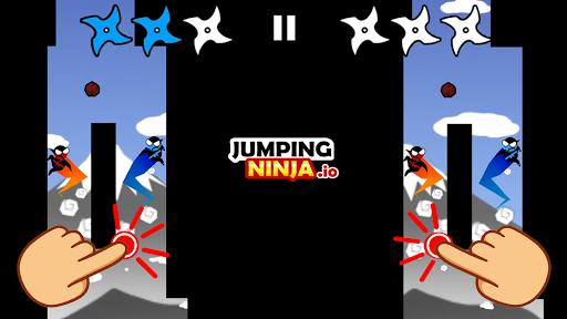 Jumping Ninja Party 2 Player Games 4.1.3 screenshots 1