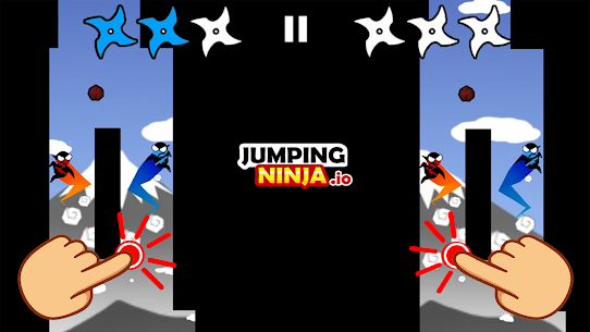Jumping Ninja Party 2 Mod Apk 4.1.3 (Unlimited Coins) 1
