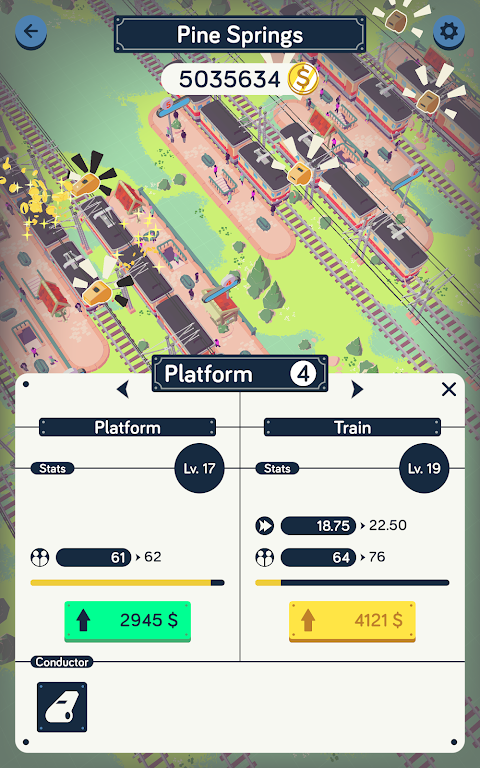 Train Station Idle Tycoon  poster 19