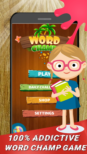Word Champ -Free Word Game Puzzle