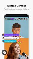 screenshot of Hakuna: Live Stream, Meet and Chat, Make Friends