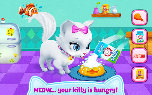 Kitty Love - My Fluffy Pet android2mod screenshots 3