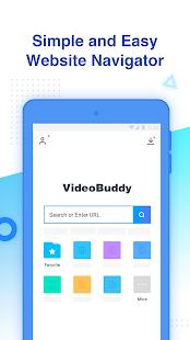 VideoBuddy Fast Downloader, Video Detector Image 1