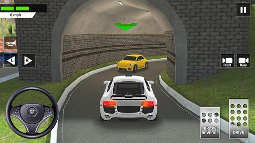 City Car Driving & Parking School Test Simulator 3.0 screenshots 8