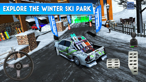 Winter Ski Park: Snow Driver 1.0.3 screenshots 2