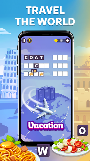 Wordelicious - Play Word Search Food Puzzle Game apktreat screenshots 1