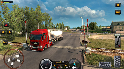 US Heavy Modern Truck: Grand Driving Cargo 2020  Screenshots 7