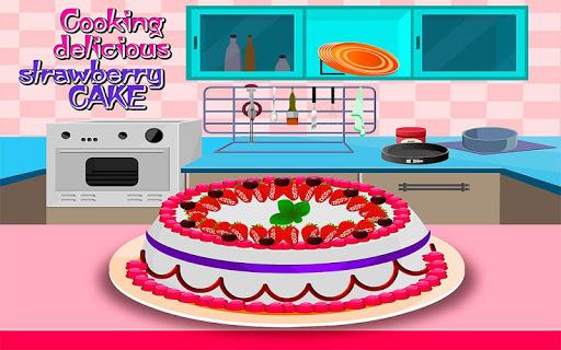 cooking strawberry cake screenshot 1