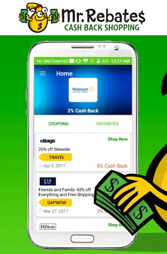 Mr. Rebates: Cash Back Savings 1.4.3 Screenshots 1