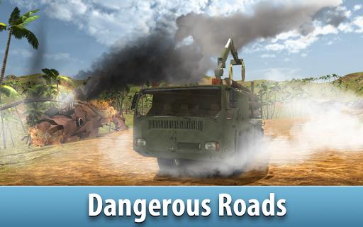 jungle logging truck simulator screenshot 2