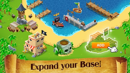 Idle Pirate Tycoon MOD APK 1.5.3 (Unlimited Money) 5