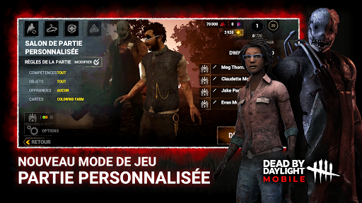 Télécharger Gratuit DEAD BY DAYLIGHT MOBILE - Multiplayer Horror Game APK MOD (Astuce) screenshots 1