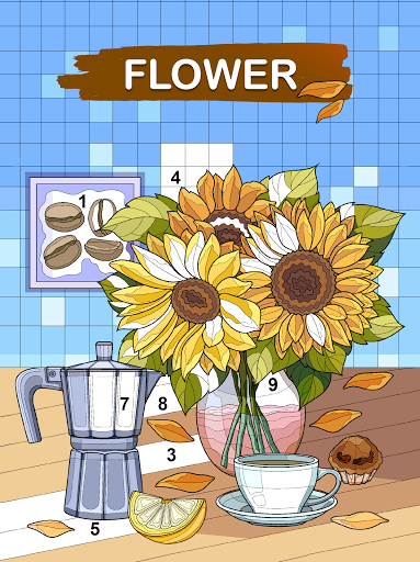 Art Games : Color by number 1.0.0 screenshots 11