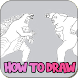 How To Draw Godzilla   Kong Step by Step 2021