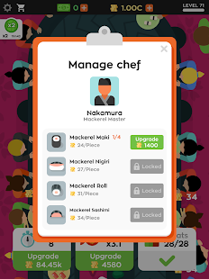 Sushi Bar Idle Screenshot