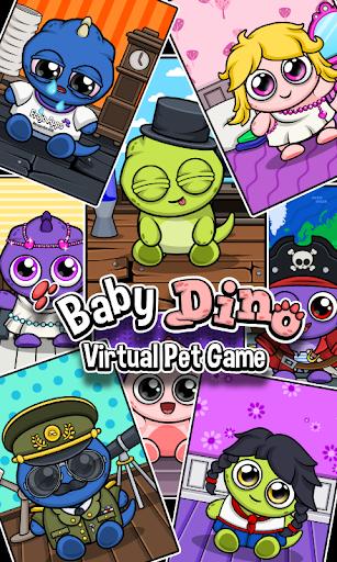 Dino ud83dudc3e Virtual Pet Game 1.371 Screenshots 1