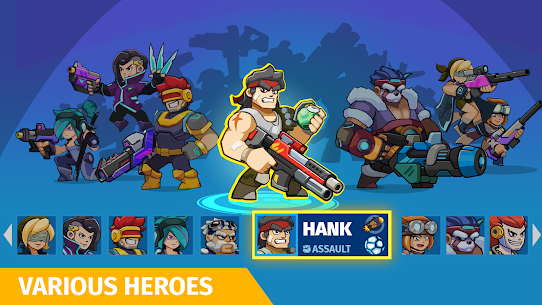 Auto Hero: Auto-fire platformer Mod Apk (God Mode) 2