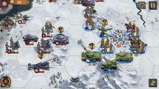 Glory of Generals 3 - WW2 Strategy Game screenshots 2
