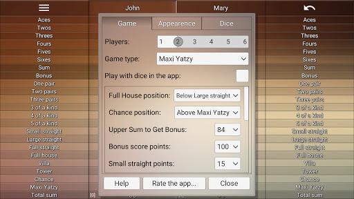 Yatzy Protocol & game screenshots 6