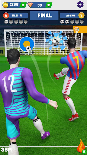 Soccer Kicks Strike: Mini Flick Football Games 3D 4.4 screenshots 2