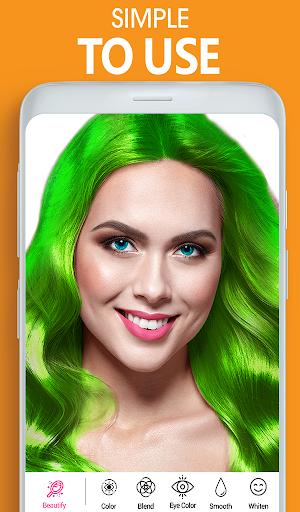 Eye, Hair Color Changer: Eye Colour Photo Editor 10.4 Screenshots 13