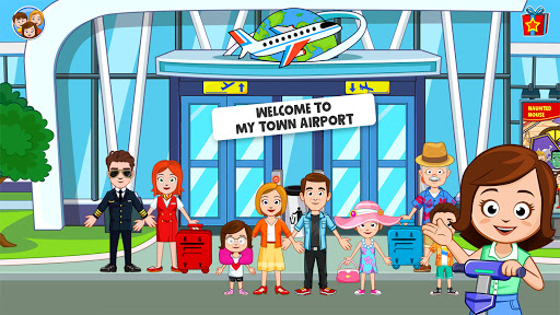 My Town : Airport. Free Airplane Games for kids  screenshots 11