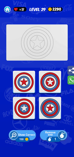 Logomania: Guess Which Logo is real or fake. 3.2.4 screenshots 3