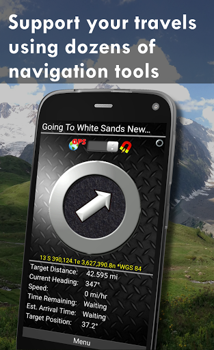 Polaris GPS Navigation: Hiking, Marine, Offroad 9.17 Screenshots 4