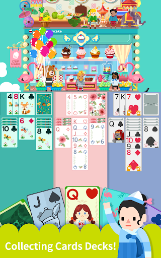 Solitaire : Cooking Tower 1.3.6 screenshots 2