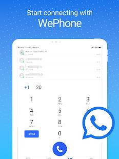 WePhone - Free Phone Calls & Cheap Calls 21080419 Screenshots 9