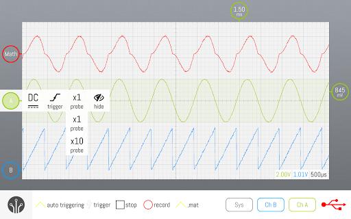 smartscope oscilloscope screenshot 2