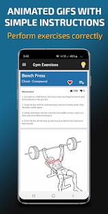 Gym Exercises & Workouts 3.39 Screenshots 4