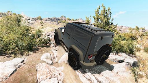 Offroad Car Driving 4x4 Jeep Car Racing Games 2021 1.3 screenshots 5