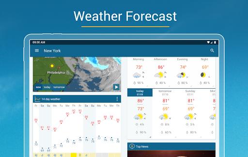 Weather & Radar - Storm radar apktram screenshots 9