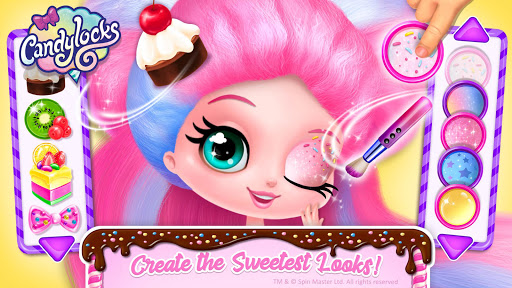 Candylocks Hair Salon - Style Cotton Candy Hair  Screenshots 5