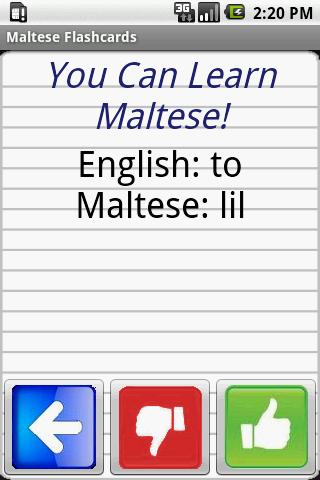 English to Maltese Flashcards For PC Windows (7, 8, 10, 10X) & Mac Computer Image Number- 6