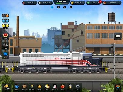 TrainStation Game On Rails Mod Apk 1.0.79 (Unlimited Money) 5