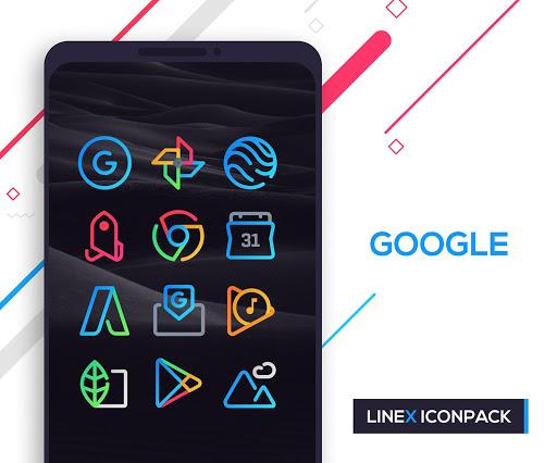 LineX Icon Pack  screenshots 3