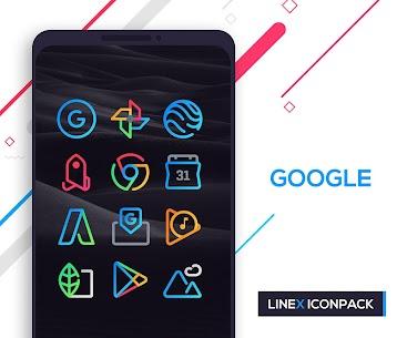 LineX Icon Pack MOD (Premium/Unlocked) 3