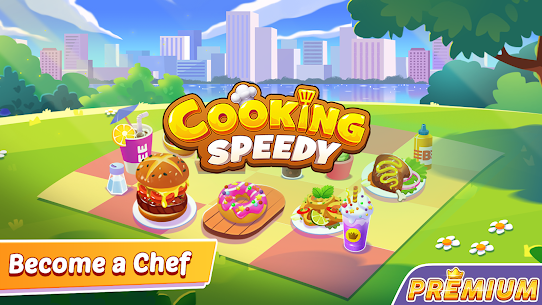 Cooking Speedy Premium: Fever Chef Cooking Games 1
