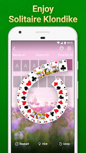 Solitaire Klondike: card games Apkfinish screenshots 6