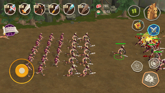 Trojan War: Rise of the legendary Sparta Mod 2.2.7 Apk (Unlimited Money) 1