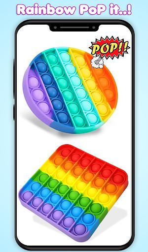 Pop It Fidget Toys Poke & Push Pop Waffle Fidgets 1.1 screenshots 8