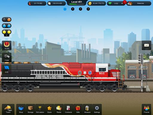 Train Station: Railroad Transport Line Simulator Apkfinish screenshots 6